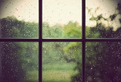 Rain on Window Pane